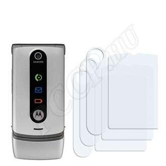 Motorola W377 kijelzővédő fólia