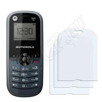 Motorola WX161 kijelzővédő fólia