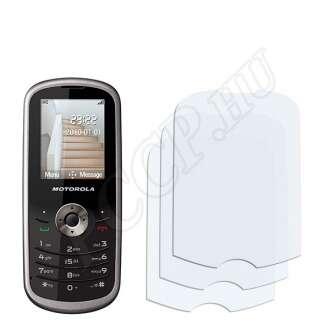 Motorola WX260 kijelzővédő fólia