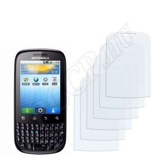 Motorola XT316 Spice kijelzővédő fólia
