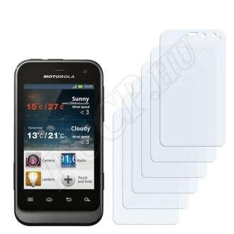 Motorola XT320 kijelzővédő fólia