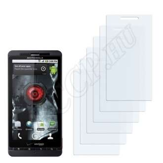 Motorola Xtreme MB810 kijelzővédő fólia
