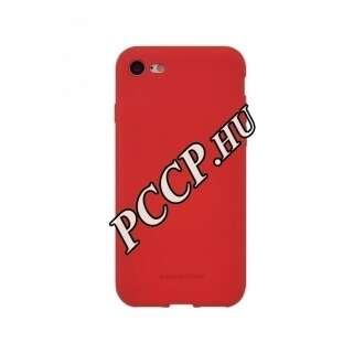 Nokia 1 Plus matt piros szilikon hátlap