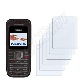 Nokia 1208 kijelzővédő fólia