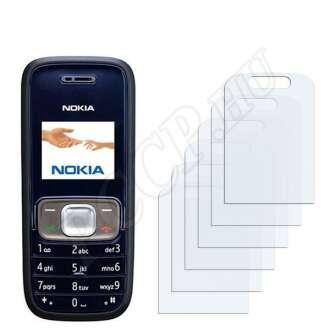 Nokia 1209 kijelzővédő fólia
