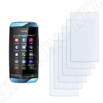 Nokia Asha 306 kijelzővédő fólia