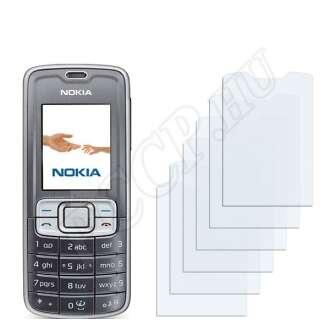 Nokia 3109 classic kijelzővédő fólia