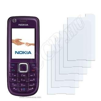 Nokia 3120 classic kijelzővédő fólia