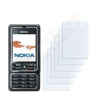 Nokia 3250 kijelzővédő fólia