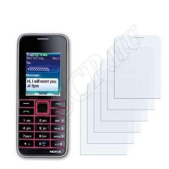 Nokia 3500 classic kijelzővédő fólia