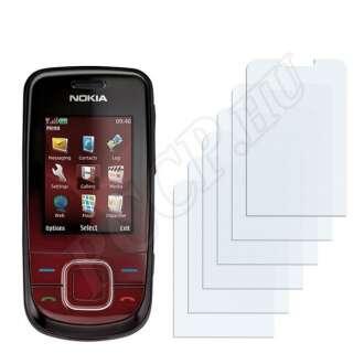 Nokia 3600 slide kijelzővédő fólia