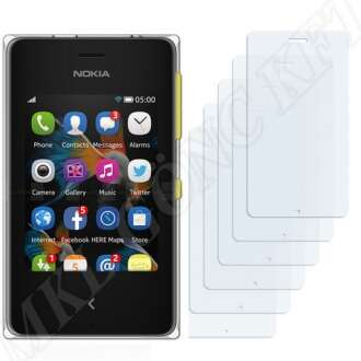 Nokia Asha 500 kijelzővédő fólia