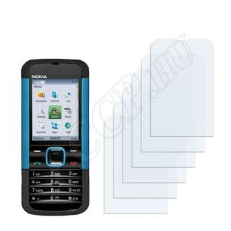 Nokia 5000 kijelzővédő fólia