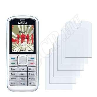 Nokia 5070 kijelzővédő fólia