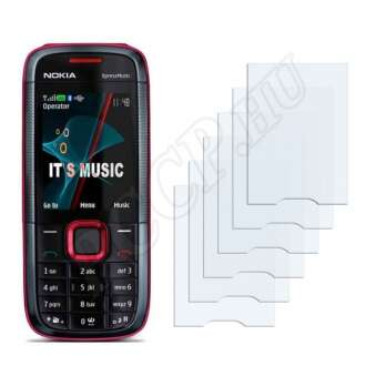 Nokia 5130 XpressMusic kijelzővédő fólia