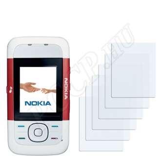 Nokia 5200 kijelzővédő fólia