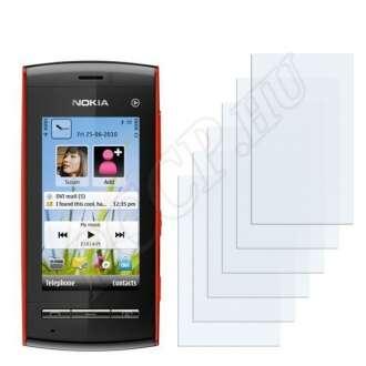 Nokia 5250 kijelzővédő fólia