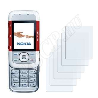 Nokia 5300 kijelzővédő fólia