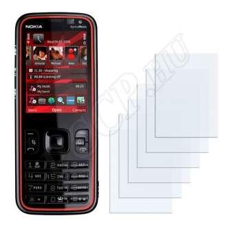 Nokia 5320 XpressMusic kijelzővédő fólia