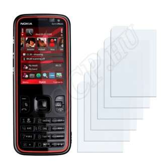 Nokia 5630 XpressMusic kijelzővédő fólia