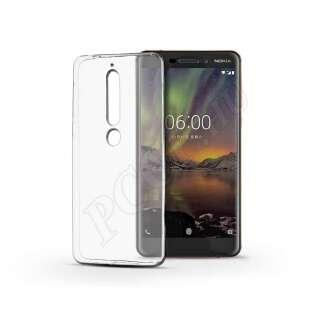 Nokia 6 (2018) átlátszó szilikon hátlap