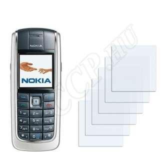 Nokia 6020 kijelzővédő fólia