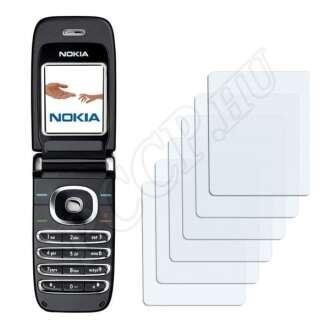 Nokia 6060 kijelzővédő fólia