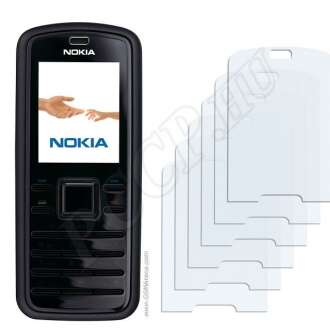 Nokia 6080 kijelzővédő fólia