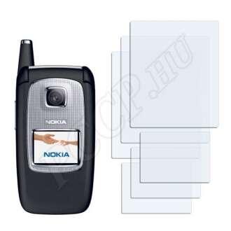 Nokia 6103 kijelzővédő fólia