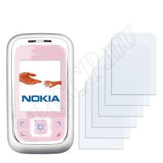 Nokia 6111 kijelzővédő fólia