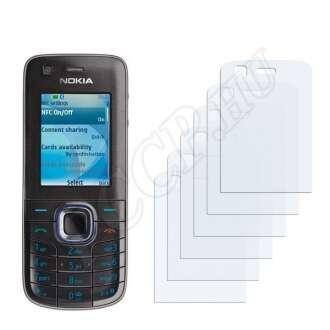 Nokia 6212 classic kijelzővédő fólia