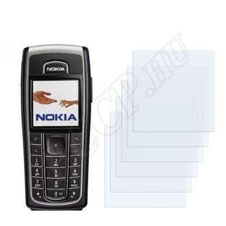 Nokia 6230 kijelzővédő fólia