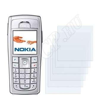 Nokia 6230i kijelzővédő fólia