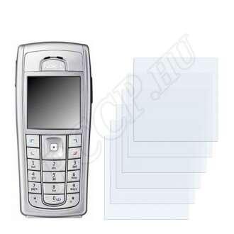 Nokia 6231i kijelzővédő fólia