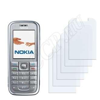 Nokia 6233 kijelzővédő fólia