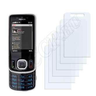 Nokia 6260 slide kijelzővédő fólia