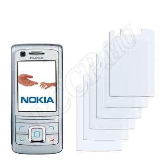 Nokia 6280 kijelzővédő fólia
