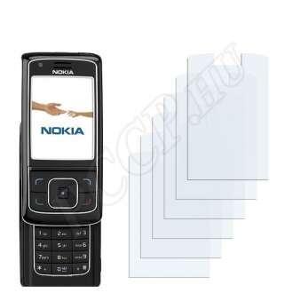 Nokia 6288 kijelzővédő fólia