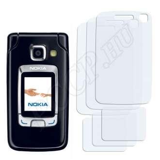 Nokia 6290 kijelzővédő fólia