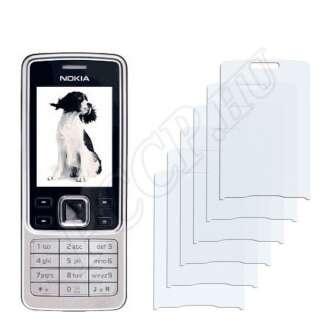 Nokia 6300i kijelzővédő fólia