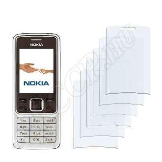 Nokia 6301 kijelzővédő fólia