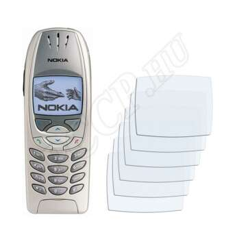 Nokia 6310i kijelzővédő fólia
