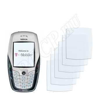 Nokia 6600 kijelzővédő fólia
