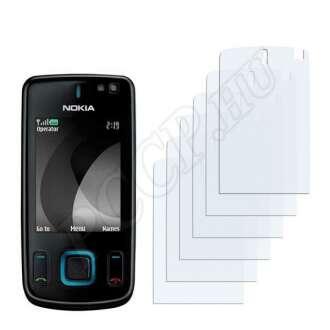 Nokia 6600 slide kijelzővédő fólia