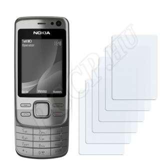 Nokia 6600i slide kijelzővédő fólia