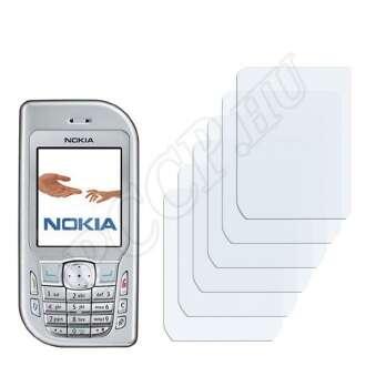 Nokia 6670 kijelzővédő fólia