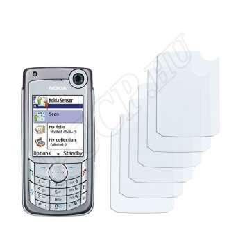 Nokia 6680 kijelzővédő fólia