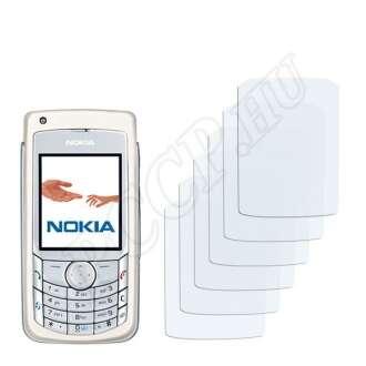 Nokia 6681 kijelzővédő fólia