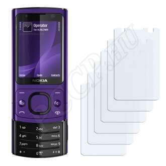 Nokia 6700 slide kijelzővédő fólia