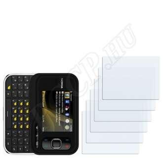 Nokia 6760 slide kijelzővédő fólia